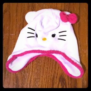 GUC Hello Kitty winter hat w/ ear flaps
